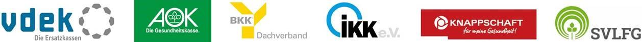 Logos der GKV-Gemeinschaftsförderung